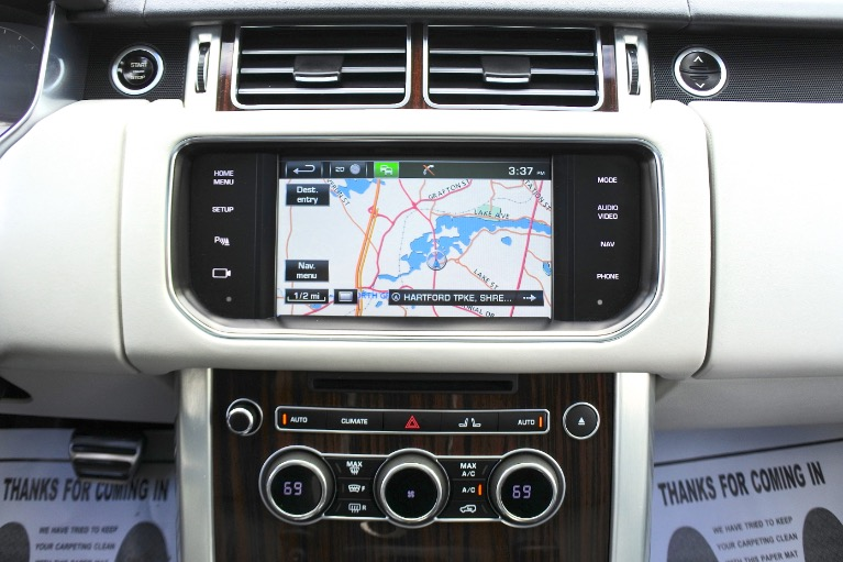 Used 2015 Land Rover Range Rover 4WD 4dr Supercharged Used 2015 Land Rover Range Rover 4WD 4dr Supercharged for sale  at Metro West Motorcars LLC in Shrewsbury MA 11