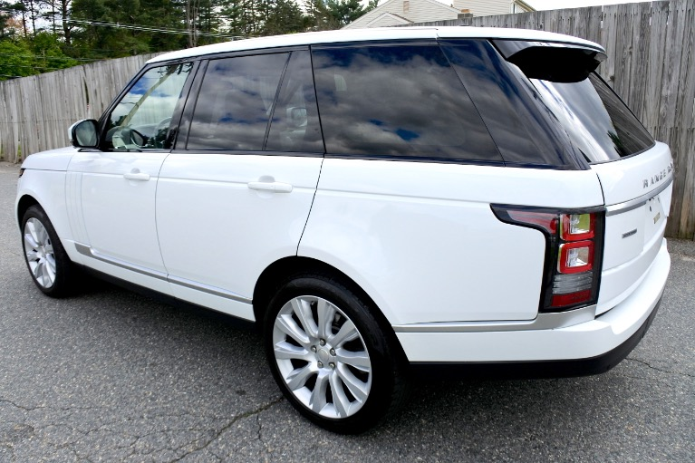 Used 2015 Land Rover Range Rover 4WD 4dr Supercharged Used 2015 Land Rover Range Rover 4WD 4dr Supercharged for sale  at Metro West Motorcars LLC in Shrewsbury MA 3