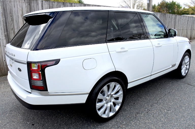 Used 2015 Land Rover Range Rover 4WD 4dr Supercharged Used 2015 Land Rover Range Rover 4WD 4dr Supercharged for sale  at Metro West Motorcars LLC in Shrewsbury MA 5