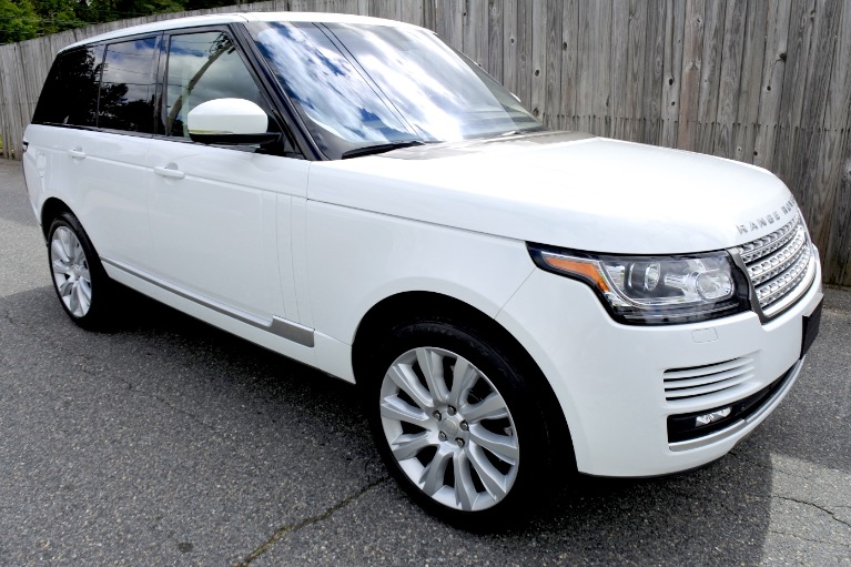 Used 2015 Land Rover Range Rover 4WD 4dr Supercharged Used 2015 Land Rover Range Rover 4WD 4dr Supercharged for sale  at Metro West Motorcars LLC in Shrewsbury MA 7