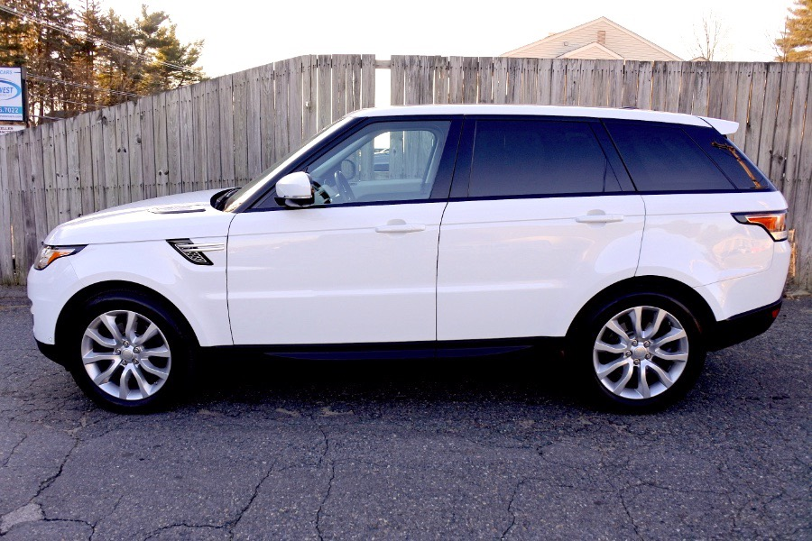 Used 2017 Land Rover Range Rover Sport V6 Supercharged HSE Used 2017 Land Rover Range Rover Sport V6 Supercharged HSE for sale  at Metro West Motorcars LLC in Shrewsbury MA 2