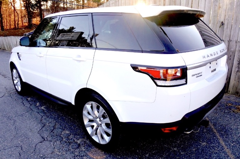Used 2017 Land Rover Range Rover Sport V6 Supercharged HSE Used 2017 Land Rover Range Rover Sport V6 Supercharged HSE for sale  at Metro West Motorcars LLC in Shrewsbury MA 3