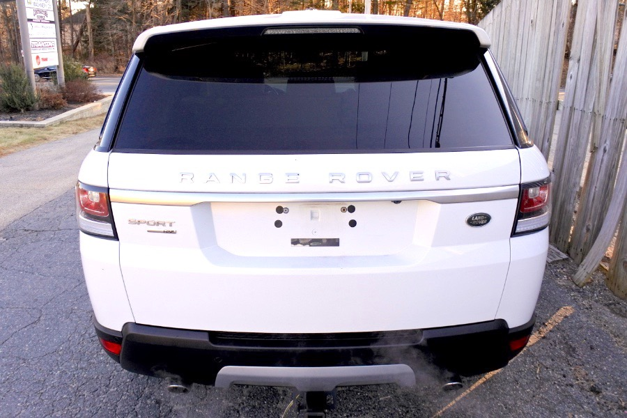 Used 2017 Land Rover Range Rover Sport V6 Supercharged HSE Used 2017 Land Rover Range Rover Sport V6 Supercharged HSE for sale  at Metro West Motorcars LLC in Shrewsbury MA 4