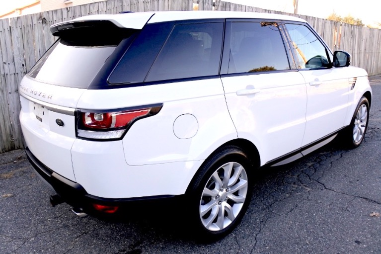 Used 2017 Land Rover Range Rover Sport V6 Supercharged HSE Used 2017 Land Rover Range Rover Sport V6 Supercharged HSE for sale  at Metro West Motorcars LLC in Shrewsbury MA 5
