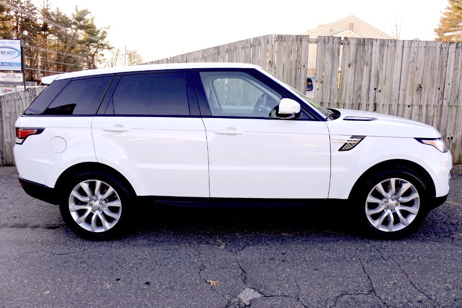 Used 2017 Land Rover Range Rover Sport V6 Supercharged HSE Used 2017 Land Rover Range Rover Sport V6 Supercharged HSE for sale  at Metro West Motorcars LLC in Shrewsbury MA 6