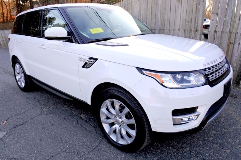 Used 2017 Land Rover Range Rover Sport V6 Supercharged HSE Used 2017 Land Rover Range Rover Sport V6 Supercharged HSE for sale  at Metro West Motorcars LLC in Shrewsbury MA 7
