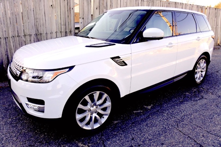 Used Used 2017 Land Rover Range Rover Sport V6 Supercharged HSE for sale Call for price at Metro West Motorcars LLC in Shrewsbury MA