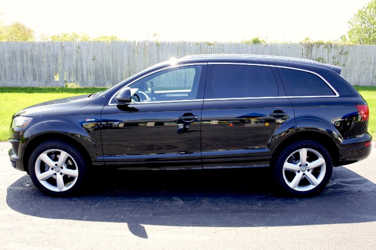 Used 2014 Audi Q7 3.0T S line Prestige Used 2014 Audi Q7 3.0T S line Prestige for sale  at Metro West Motorcars LLC in Shrewsbury MA 2