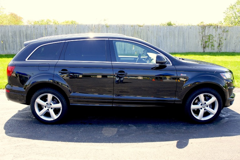 Used 2014 Audi Q7 3.0T S line Prestige Used 2014 Audi Q7 3.0T S line Prestige for sale  at Metro West Motorcars LLC in Shrewsbury MA 5