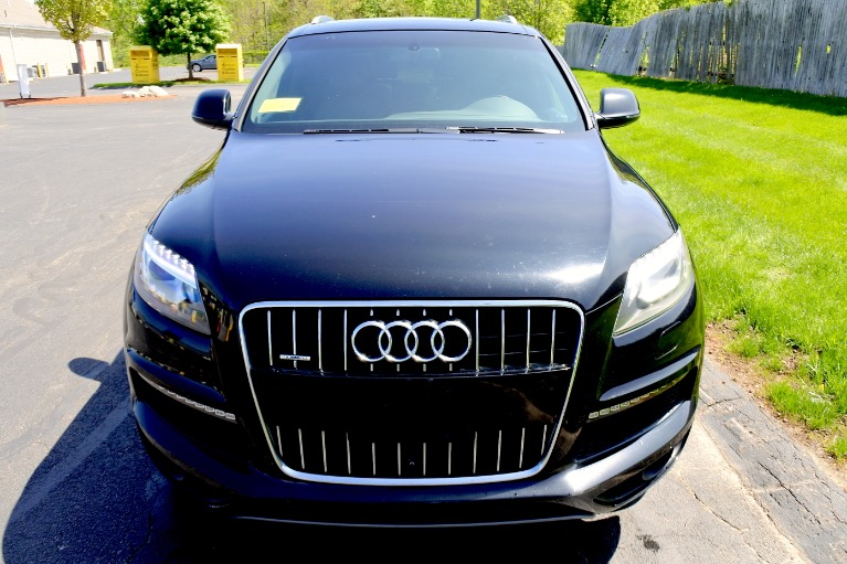 Used 2014 Audi Q7 3.0T S line Prestige Used 2014 Audi Q7 3.0T S line Prestige for sale  at Metro West Motorcars LLC in Shrewsbury MA 7