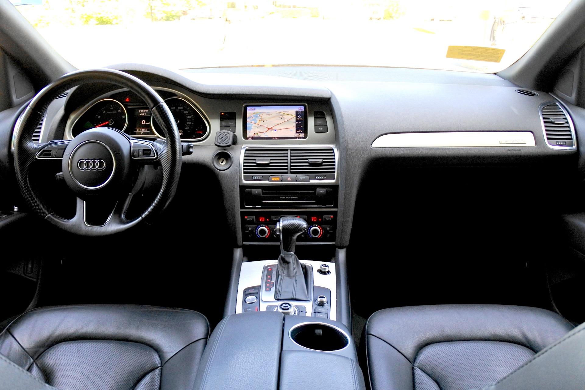 Used 2014 Audi Q7 3.0T S line Prestige Used 2014 Audi Q7 3.0T S line Prestige for sale  at Metro West Motorcars LLC in Shrewsbury MA 8