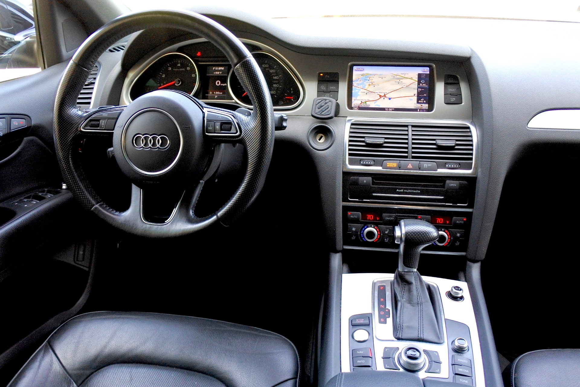 Used 2014 Audi Q7 3.0T S line Prestige Used 2014 Audi Q7 3.0T S line Prestige for sale  at Metro West Motorcars LLC in Shrewsbury MA 9