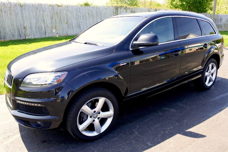Used 2014 Audi Q7 3.0T S line Prestige Used 2014 Audi Q7 3.0T S line Prestige for sale  at Metro West Motorcars LLC in Shrewsbury MA 1