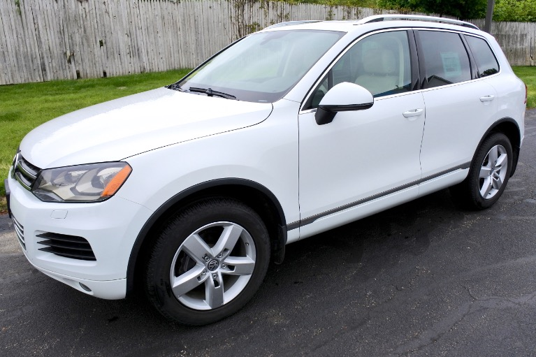 Used Used 2012 Volkswagen Touareg TDI Lux for sale $14,800 at Metro West Motorcars LLC in Shrewsbury MA