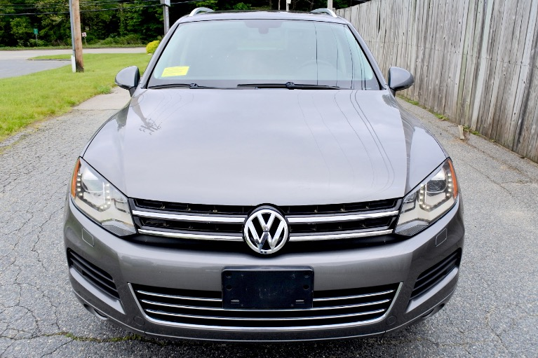 Used 2011 Volkswagen Touareg TDI Lux Used 2011 Volkswagen Touareg TDI Lux for sale  at Metro West Motorcars LLC in Shrewsbury MA 8