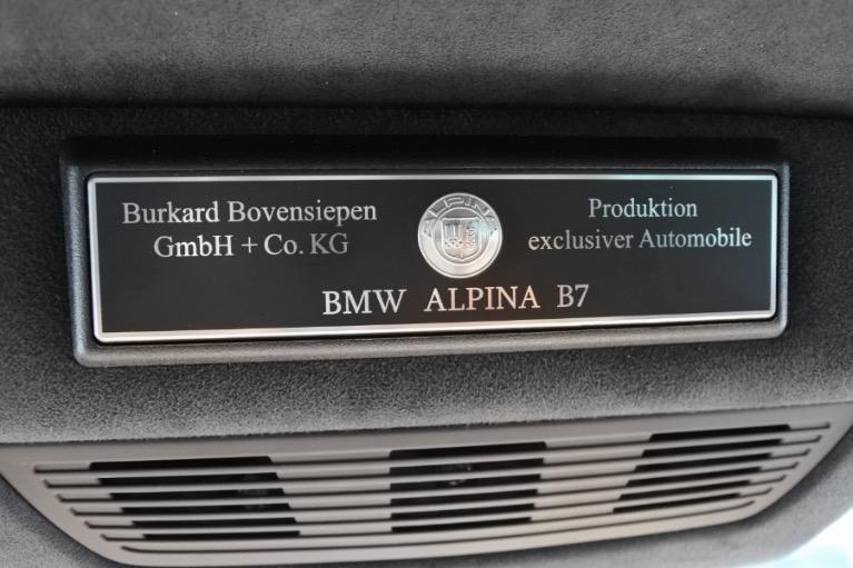 Used 2013 BMW Alpina B7 LWB xDrive AWD Used 2013 BMW Alpina B7 LWB xDrive AWD for sale  at Metro West Motorcars LLC in Shrewsbury MA 25