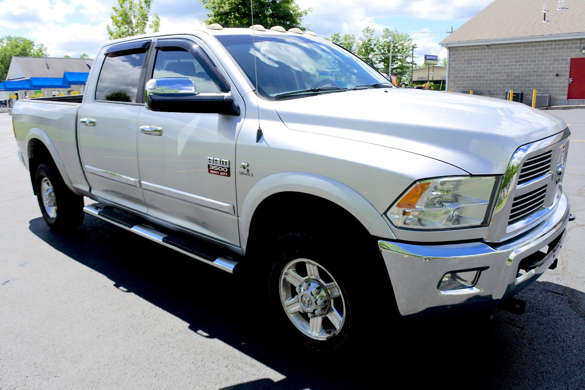 Used 2010 Dodge Ram 3500 4WD Crew Cab 149' Laramie Used 2010 Dodge Ram 3500 4WD Crew Cab 149' Laramie for sale  at Metro West Motorcars LLC in Shrewsbury MA 7