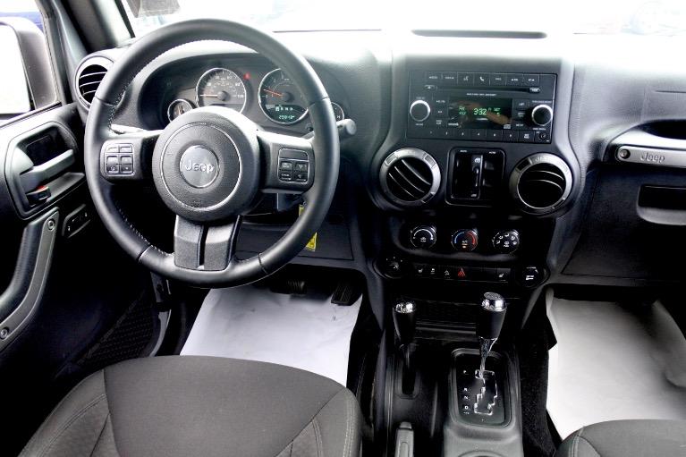 Used 2017 Jeep Wrangler Unlimited Sport 4x4 Used 2017 Jeep Wrangler Unlimited Sport 4x4 for sale  at Metro West Motorcars LLC in Shrewsbury MA 10