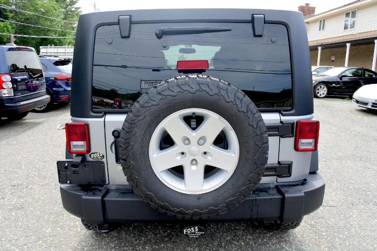 Used 2017 Jeep Wrangler Unlimited Sport 4x4 Used 2017 Jeep Wrangler Unlimited Sport 4x4 for sale  at Metro West Motorcars LLC in Shrewsbury MA 4