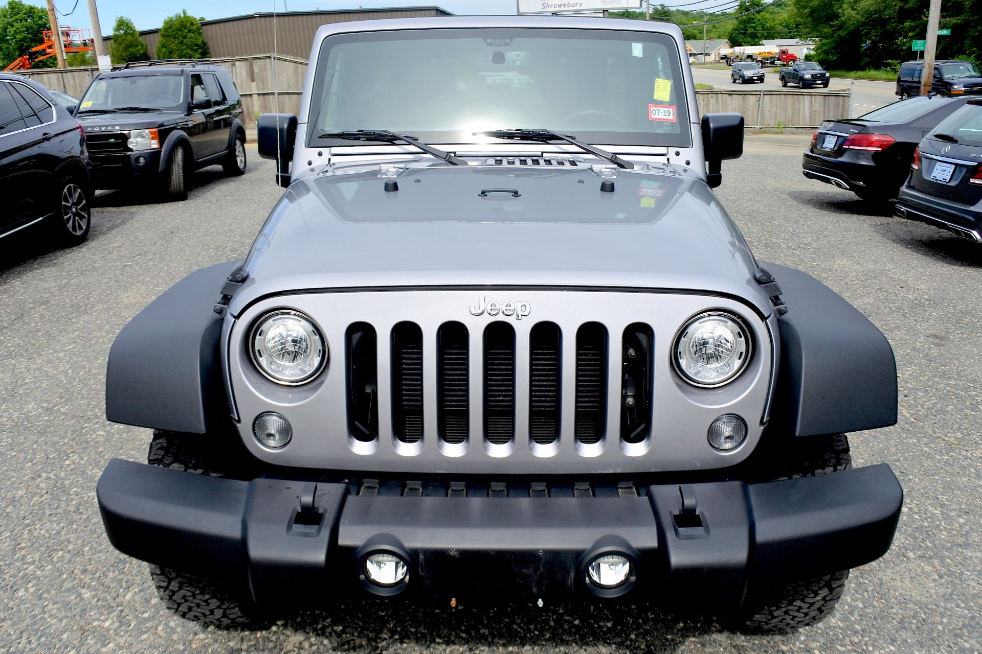 Used 2017 Jeep Wrangler Unlimited Sport 4x4 Used 2017 Jeep Wrangler Unlimited Sport 4x4 for sale  at Metro West Motorcars LLC in Shrewsbury MA 8