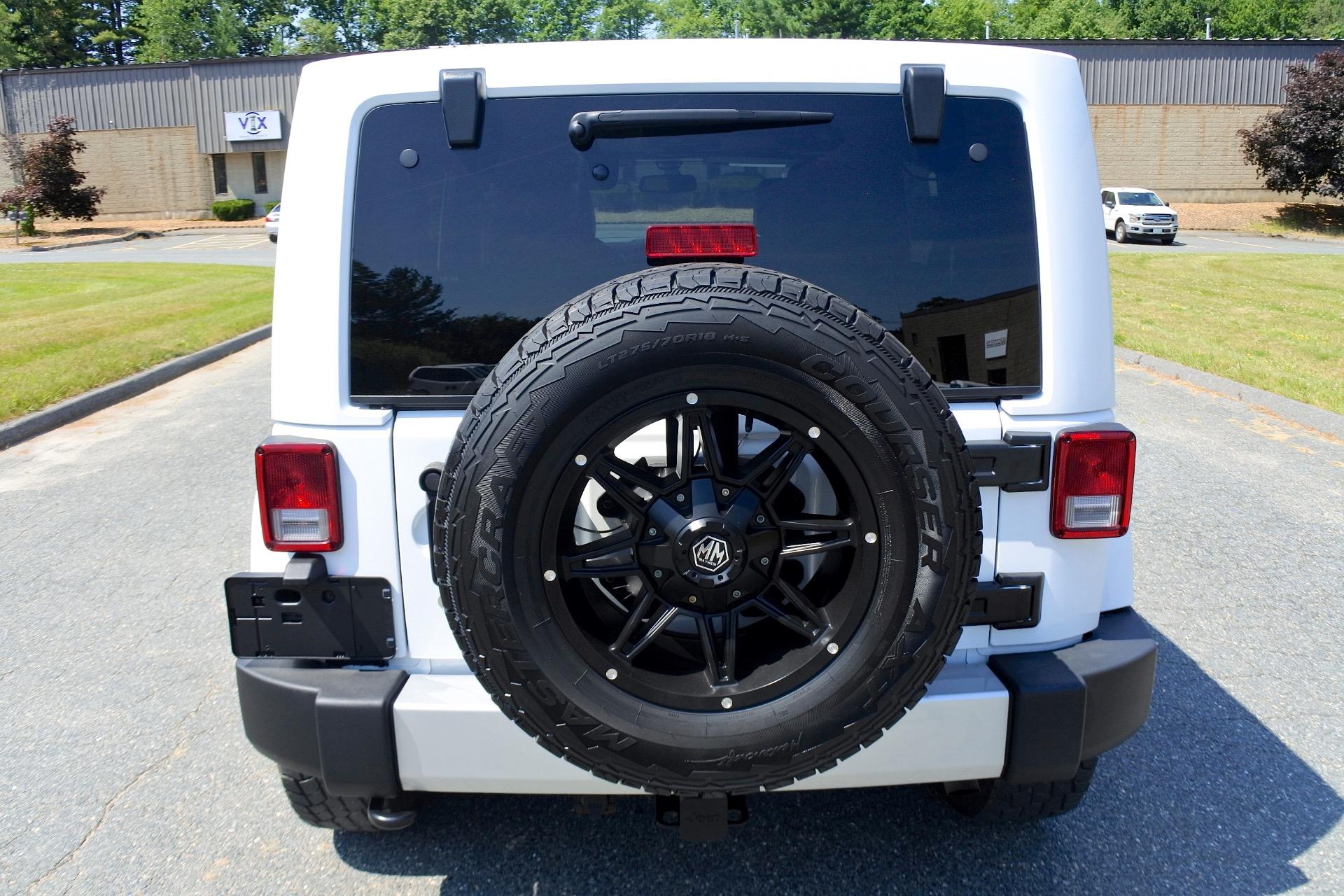 Used 2015 Jeep Wrangler Unlimited 4WD 4dr Sahara Used 2015 Jeep Wrangler Unlimited 4WD 4dr Sahara for sale  at Metro West Motorcars LLC in Shrewsbury MA 4