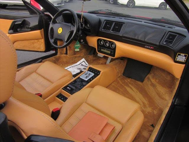 Used 1999 Ferrari F355 F1 Spider F1 Used 1999 Ferrari F355 F1 Spider F1 for sale  at Metro West Motorcars LLC in Shrewsbury MA 11