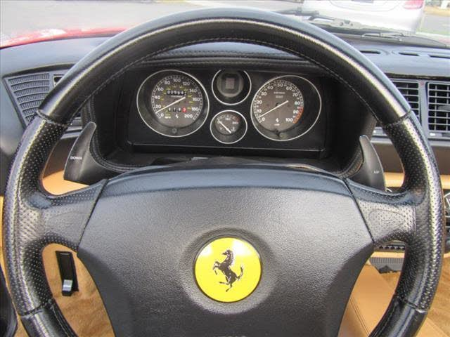 Used 1999 Ferrari F355 F1 Spider F1 Used 1999 Ferrari F355 F1 Spider F1 for sale  at Metro West Motorcars LLC in Shrewsbury MA 12