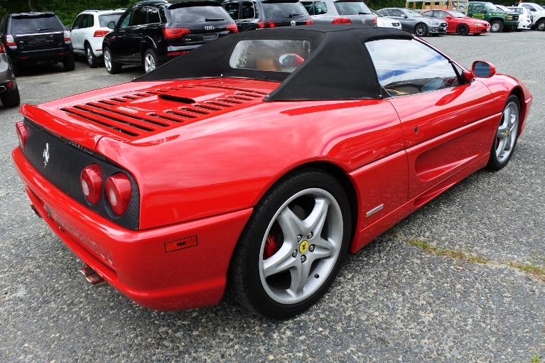 Used 1999 Ferrari F355 F1 Spider F1 Used 1999 Ferrari F355 F1 Spider F1 for sale  at Metro West Motorcars LLC in Shrewsbury MA 5