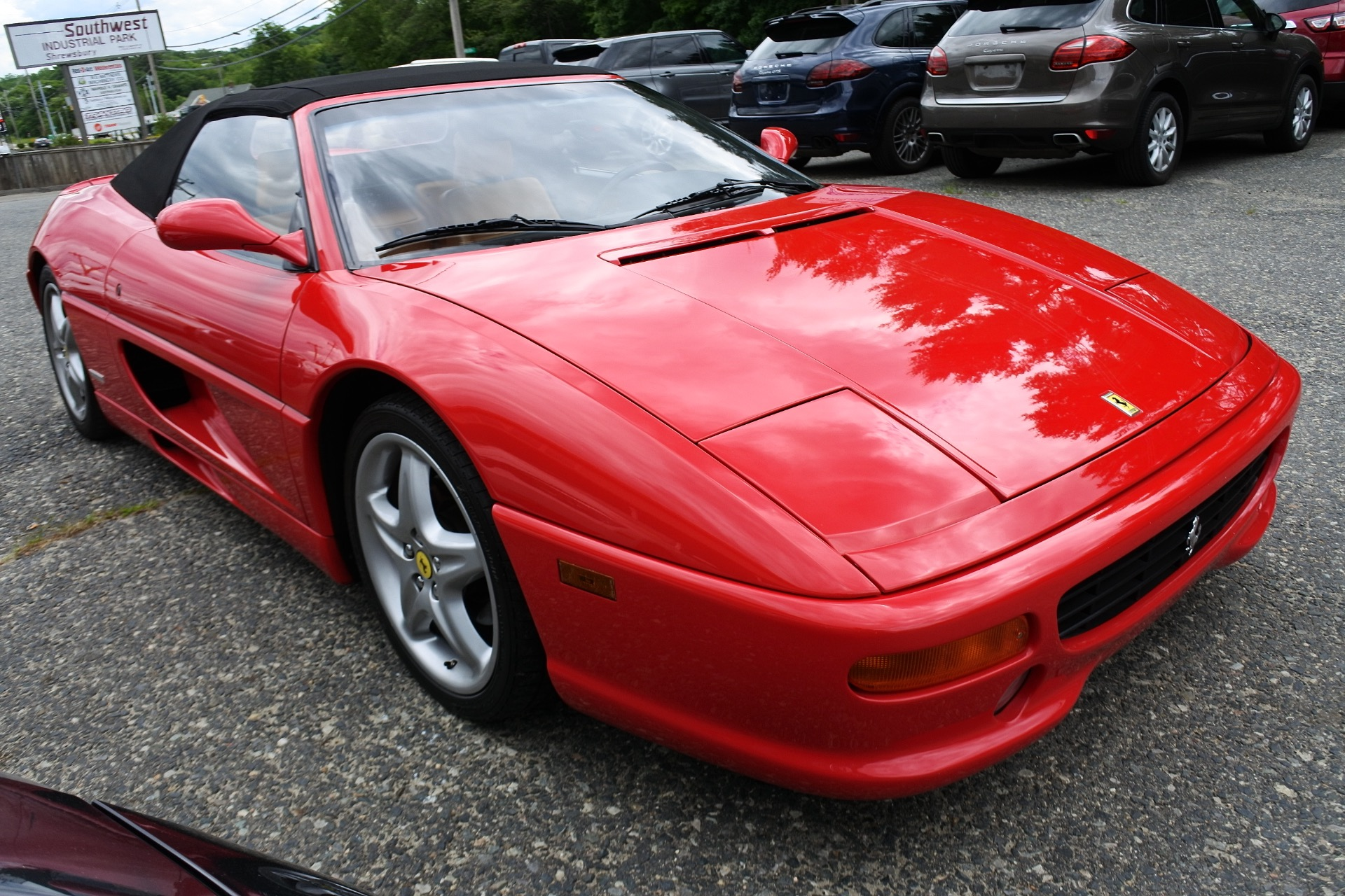 Used 1999 Ferrari F355 F1 Spider F1 Used 1999 Ferrari F355 F1 Spider F1 for sale  at Metro West Motorcars LLC in Shrewsbury MA 6