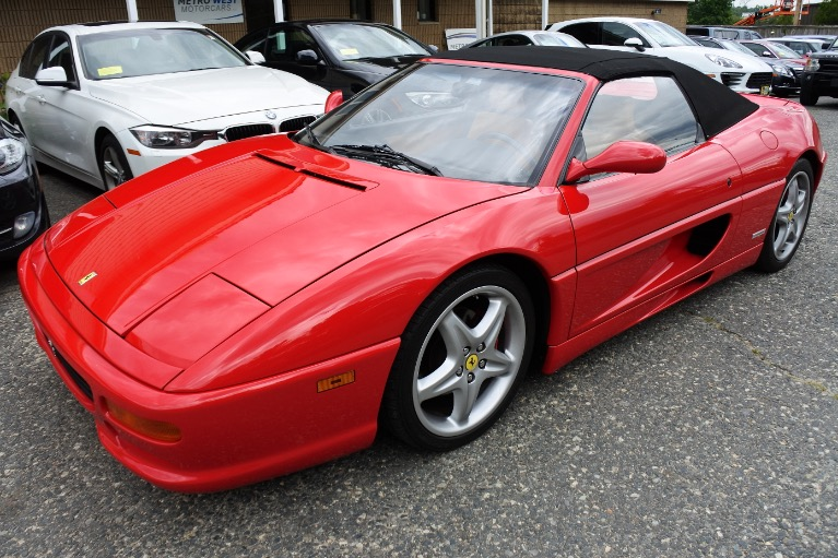 Used 1999 Ferrari F355 F1 Spider F1 Used 1999 Ferrari F355 F1 Spider F1 for sale  at Metro West Motorcars LLC in Shrewsbury MA 1