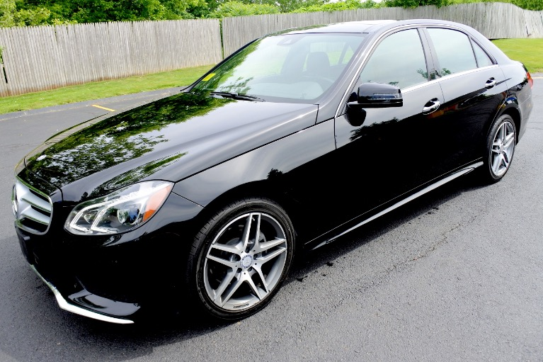 Used 2016 Mercedes-Benz E-class E400 4MATIC AMG Used 2016 Mercedes-Benz E-class E400 4MATIC AMG for sale  at Metro West Motorcars LLC in Shrewsbury MA 1