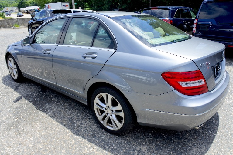Used 2013 Mercedes-Benz C-class C300 Luxury 4MATIC Used 2013 Mercedes-Benz C-class C300 Luxury 4MATIC for sale  at Metro West Motorcars LLC in Shrewsbury MA 3