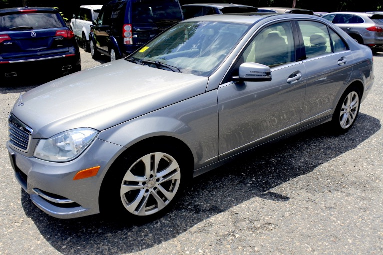 Used Used 2013 Mercedes-Benz C-class C300 Luxury 4MATIC for sale $12,700 at Metro West Motorcars LLC in Shrewsbury MA