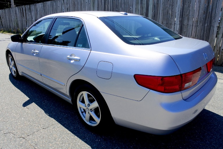 Used 2005 Honda Accord Sdn EX-L Used 2005 Honda Accord Sdn EX-L for sale  at Metro West Motorcars LLC in Shrewsbury MA 3