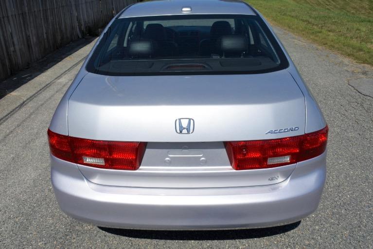 Used 2005 Honda Accord Sdn EX-L Used 2005 Honda Accord Sdn EX-L for sale  at Metro West Motorcars LLC in Shrewsbury MA 4