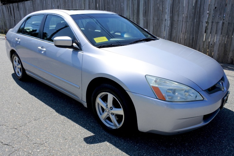 Used 2005 Honda Accord Sdn EX-L Used 2005 Honda Accord Sdn EX-L for sale  at Metro West Motorcars LLC in Shrewsbury MA 7
