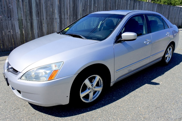 Used Used 2005 Honda Accord Sdn EX-L for sale $5,800 at Metro West Motorcars LLC in Shrewsbury MA