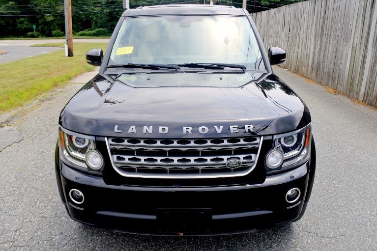 Used 2016 Land Rover Lr4 HSE Used 2016 Land Rover Lr4 HSE for sale  at Metro West Motorcars LLC in Shrewsbury MA 8