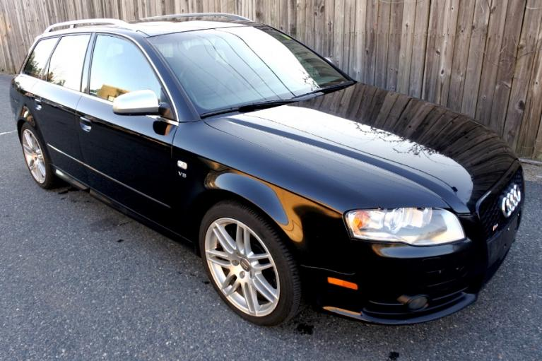 Used 2008 Audi S4 Avant Wagon Manual Used 2008 Audi S4 Avant Wagon Manual for sale  at Metro West Motorcars LLC in Shrewsbury MA 7