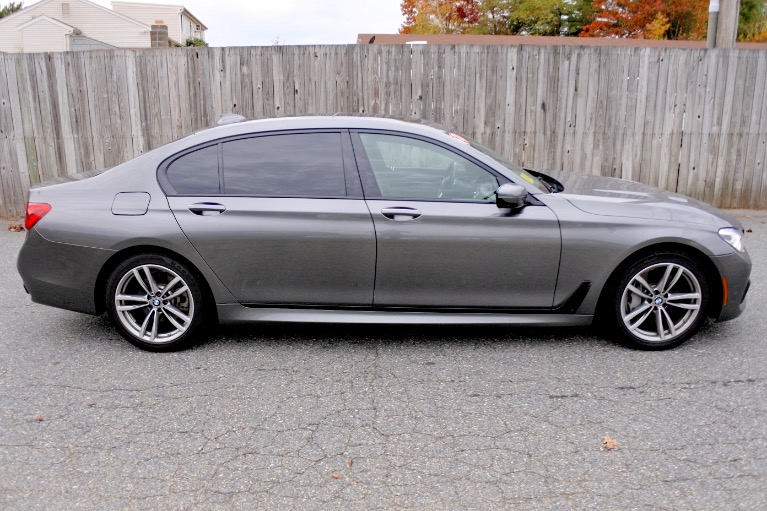 Used 2017 BMW 7 Series 750i Sedan Used 2017 BMW 7 Series 750i Sedan for sale  at Metro West Motorcars LLC in Shrewsbury MA 6
