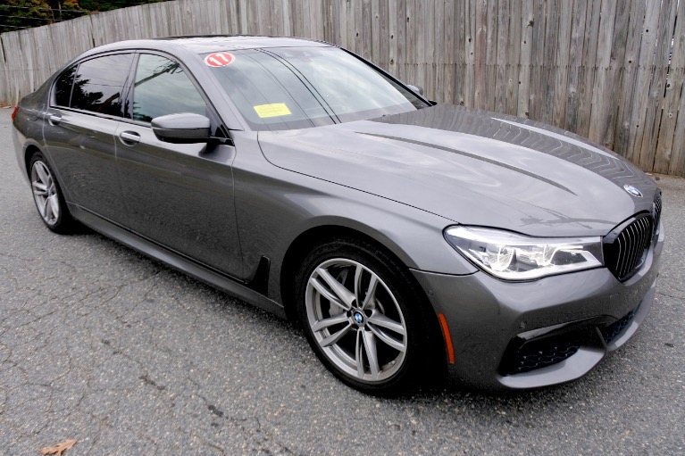 Used 2017 BMW 7 Series 750i Sedan Used 2017 BMW 7 Series 750i Sedan for sale  at Metro West Motorcars LLC in Shrewsbury MA 7