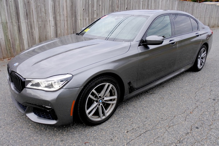 Used 2017 BMW 7 Series 750i Sedan Used 2017 BMW 7 Series 750i Sedan for sale  at Metro West Motorcars LLC in Shrewsbury MA 1