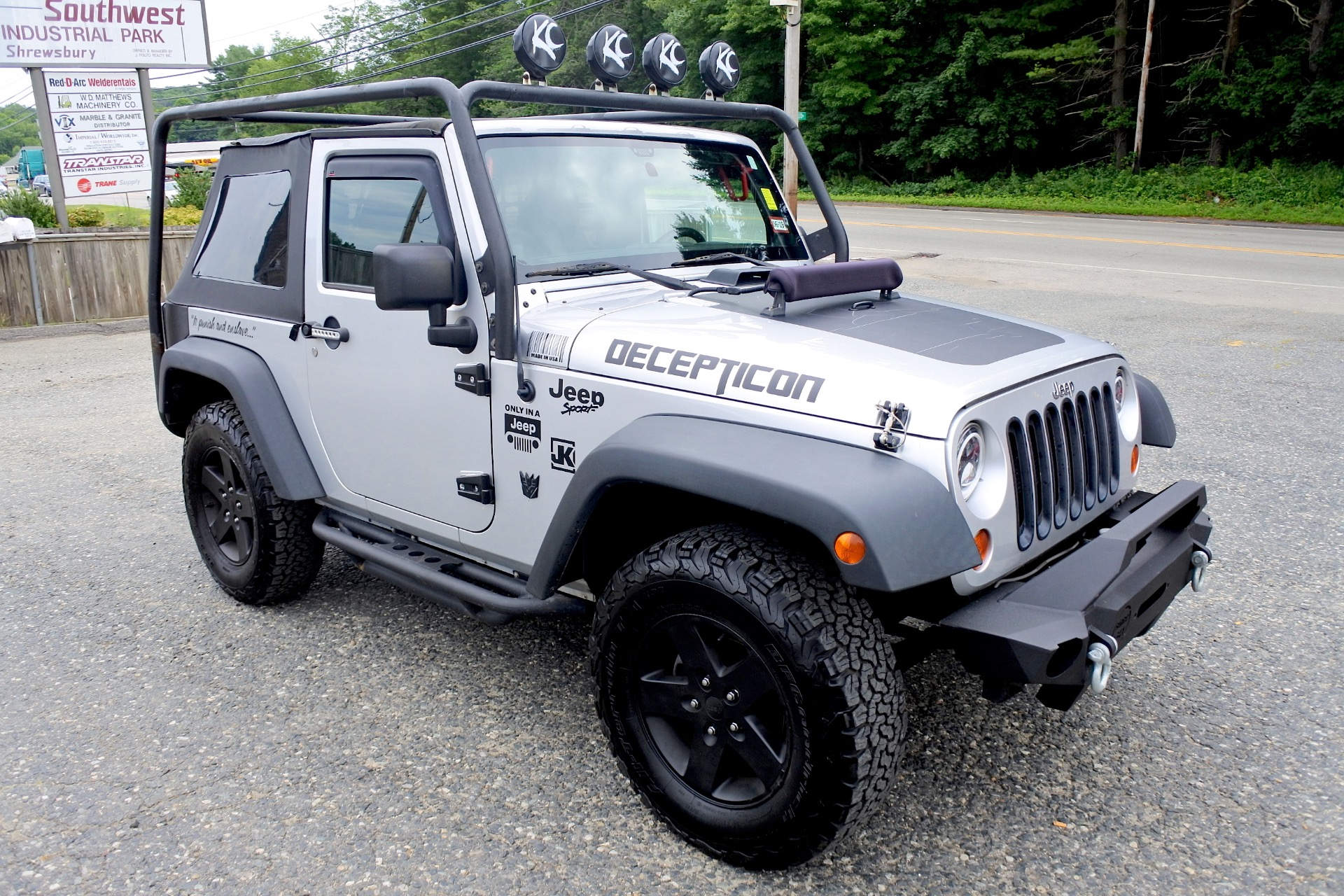 Used 2012 Jeep Wrangler 4WD 2dr Sport Used 2012 Jeep Wrangler 4WD 2dr Sport for sale  at Metro West Motorcars LLC in Shrewsbury MA 7