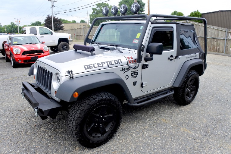 Used 2012 Jeep Wrangler 4WD 2dr Sport Used 2012 Jeep Wrangler 4WD 2dr Sport for sale  at Metro West Motorcars LLC in Shrewsbury MA 1