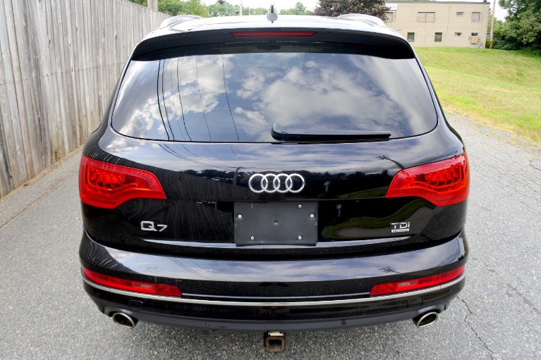 Used 2013 Audi Q7 TDI Premium Plus Quattro Used 2013 Audi Q7 TDI Premium Plus Quattro for sale  at Metro West Motorcars LLC in Shrewsbury MA 4
