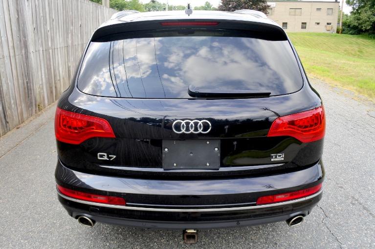 Used 2013 Audi Q7 TDI Premium Plus Quattro Used 2013 Audi Q7 TDI Premium Plus Quattro for sale  at Metro West Motorcars LLC in Shrewsbury MA 4