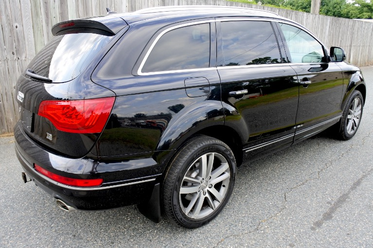 Used 2013 Audi Q7 TDI Premium Plus Quattro Used 2013 Audi Q7 TDI Premium Plus Quattro for sale  at Metro West Motorcars LLC in Shrewsbury MA 5