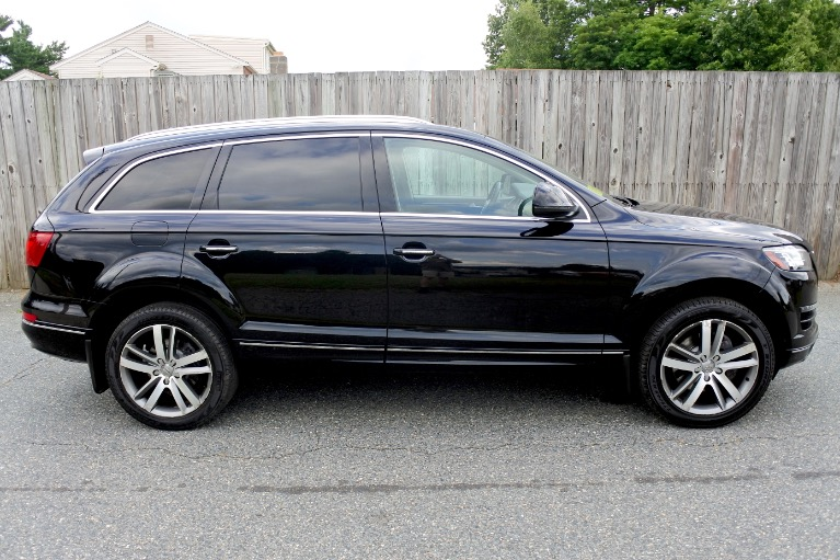 Used 2013 Audi Q7 TDI Premium Plus Quattro Used 2013 Audi Q7 TDI Premium Plus Quattro for sale  at Metro West Motorcars LLC in Shrewsbury MA 6