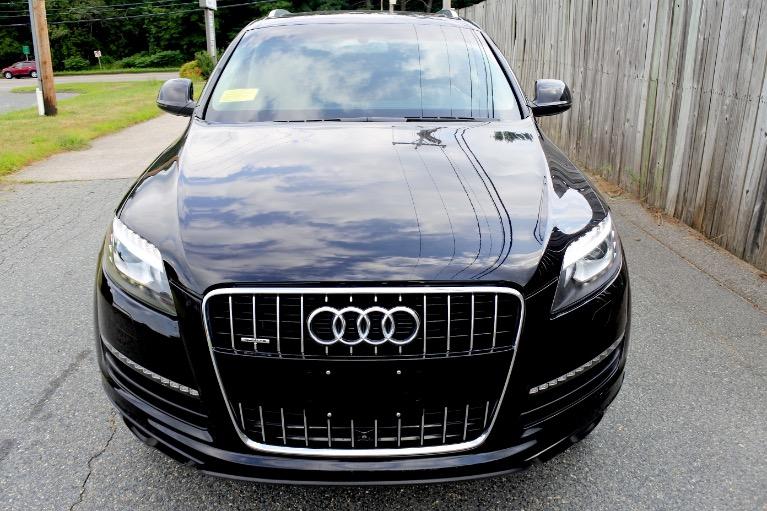 Used 2013 Audi Q7 TDI Premium Plus Quattro Used 2013 Audi Q7 TDI Premium Plus Quattro for sale  at Metro West Motorcars LLC in Shrewsbury MA 8