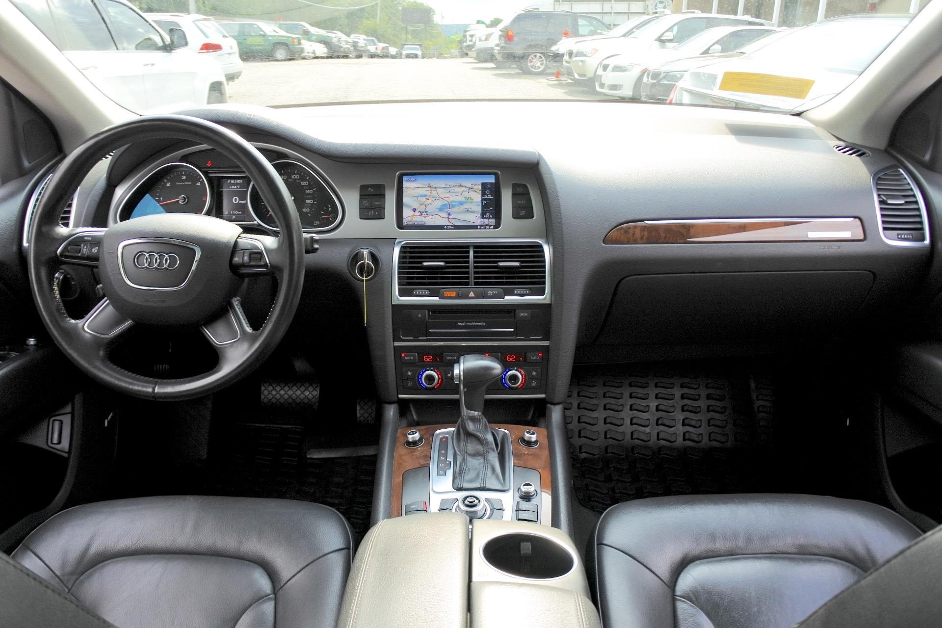 Used 2013 Audi Q7 TDI Premium Plus Used 2013 Audi Q7 TDI Premium Plus for sale  at Metro West Motorcars LLC in Shrewsbury MA 9